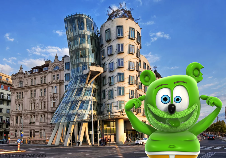 dancing house czech republic long version i am a gummy bear song gummibar gummybear international animated cartoon kids character web series full episodes childrens music