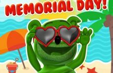 happy memorial day weekend mdw 2017 gummy bear gummibar gummybear international the i am a gummybear song
