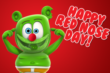 red nose day 2017 childrens kids charity organization i am a gummy bear song gummybearintl youtube youtuber kids cartoon character animated animation web series full episodes