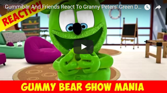 donuts gummy bear show mania green gummy bears gummybear show gummibar and friends gummibär youtube channel