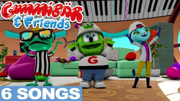 kids songs gummy bear show song cartoon kids show animated animation