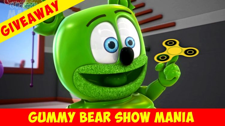 fidget spinners count the fidget spinner free stuff giveaway giveaways enter to win cool prizes gummy bear song i am a gummybear international gummibar