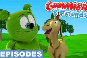 cute animals gummy bear show gummibar and friends episode compilation ima gummybear international youtube youtuber animated animation kids cartoon web series show