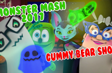 MONSTER MASH 2017 halloween songs kids music childrens song gummy bear song i am a gummybear gummibar and friends gummybear international animated animation web series