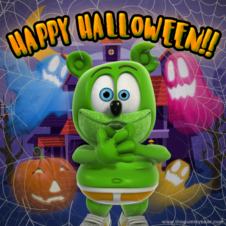 happy halloween 2017 i am a gummy bear song gummibar and friends the gummybear show gummybear international animated animation youtube youtuber cartoon kids web series show
