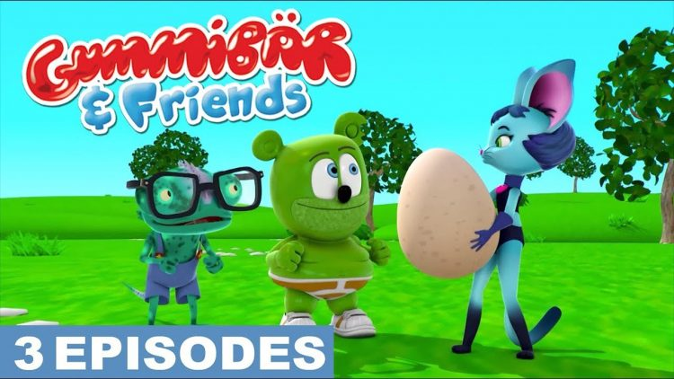surprise egg surprise eggs gummy bear show i am a gummybear gummibar international kids show for children full episodes animated web series animation show