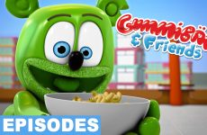 fun with food gummy bear show gummibar and friends the gummy bear song i am a gummybear international youtube youtuber animated cartoon show web series for kids childrens music free full episodes