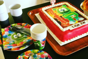 gummy bear song birthday party