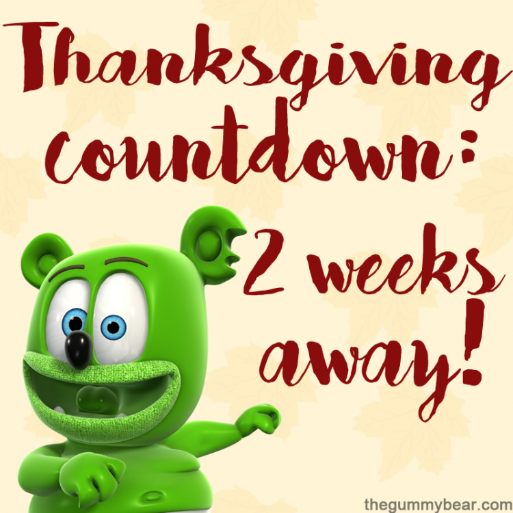 thanksgiving 2017 countdown only two weeks away