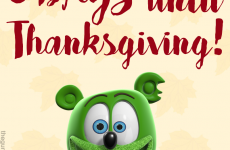 thanksgiving 2017 countdown with gummibar the gummy bear song i am a gummy bear