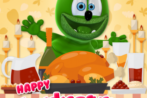 happy thanksgiving 2017 gummibar the gummy bear song i am a gummy bear
