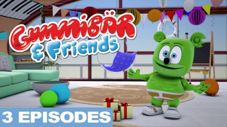 birthday fun the gummy bear show gummibar and friends im a gummy bear i am a gummybear international youtube youtuber kids show cartoon web series animated animation
