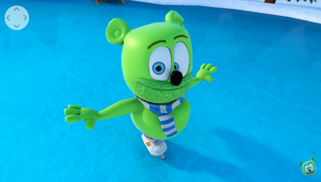 360 virtual reality video gummibar the gummy bear i am a gummy bear ima gummy bear