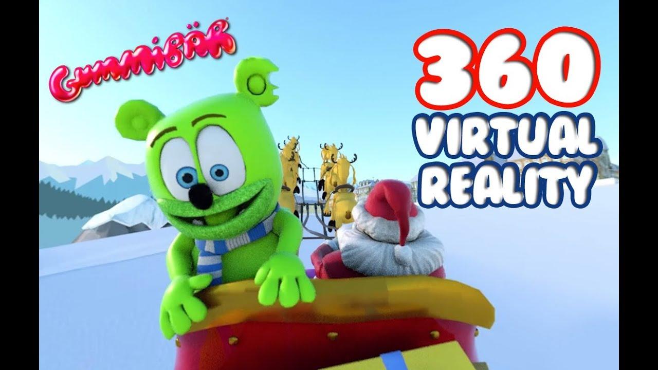 360 virtual reality winter wonderland gummib r the gummy. Black Bedroom Furniture Sets. Home Design Ideas