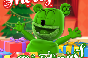 merry christmas happy holidays im a gummy bear i am a gummy bear