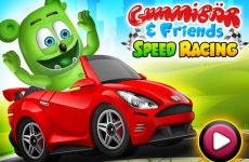 gummibär and friends speed racing game