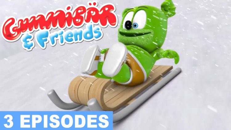 frozen gummy bear show gummibar and friends episode compilation