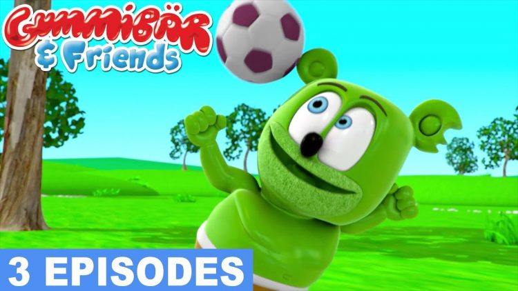 let's play sports the gummy bear show gummibar and friends episode compilation