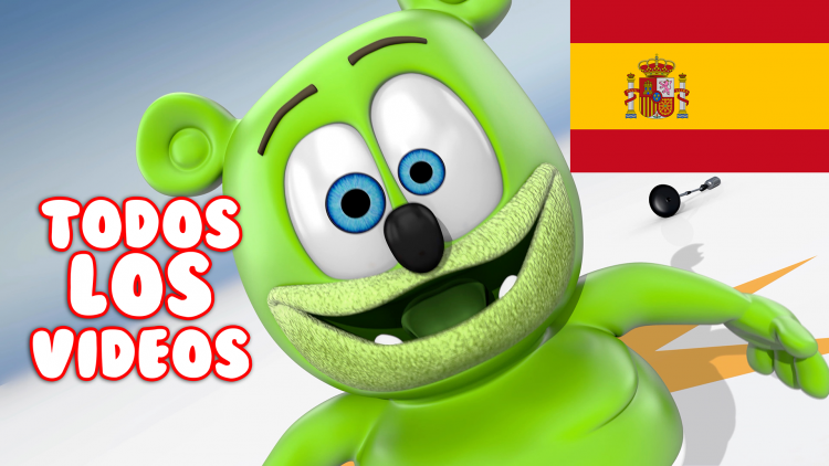 spanish gummy bear songs todos los videos osito gominola gummibar