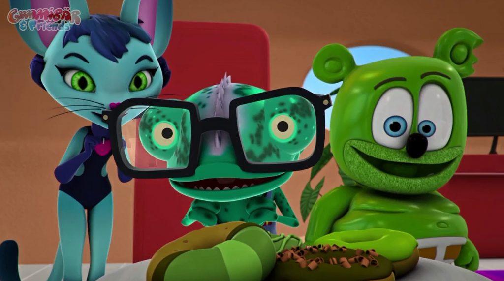 all gummy bear show episodes gummibar and friends live marathon streaming youtube youtuber kids childrens cartoon