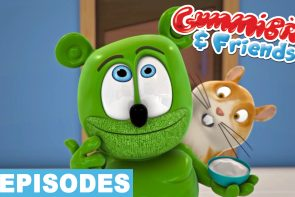 new gummy bear show episode compilation fun size fun sized youtube youtuber gummibar and friends the gummy bear song