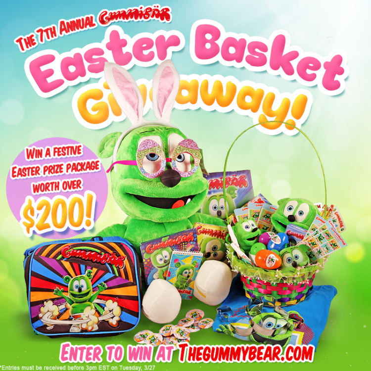 seventh annual gummibar easter basket giveaway