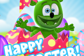 happy easter 2018 gummibar the gummy bear i am a gummybear international the gummy bear song gummybearintl youtube youtuber animated animation