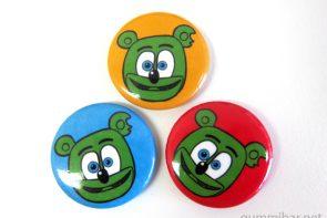 gummibar buttons trio gummy bear shop i am a gummy bear