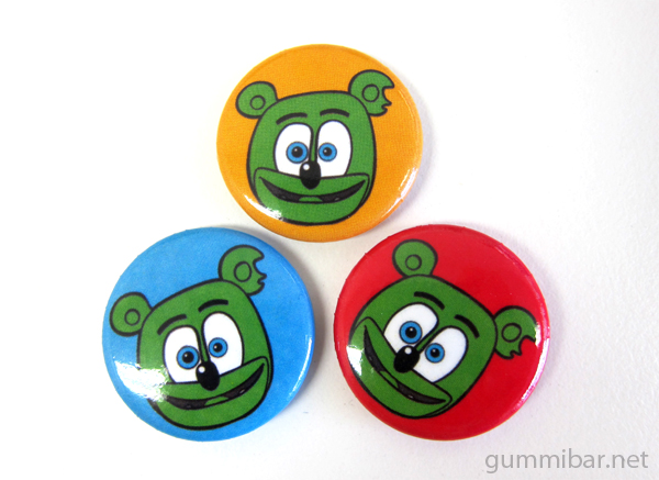 gummibar buttons trio gummy bear shop i am a gummy bear