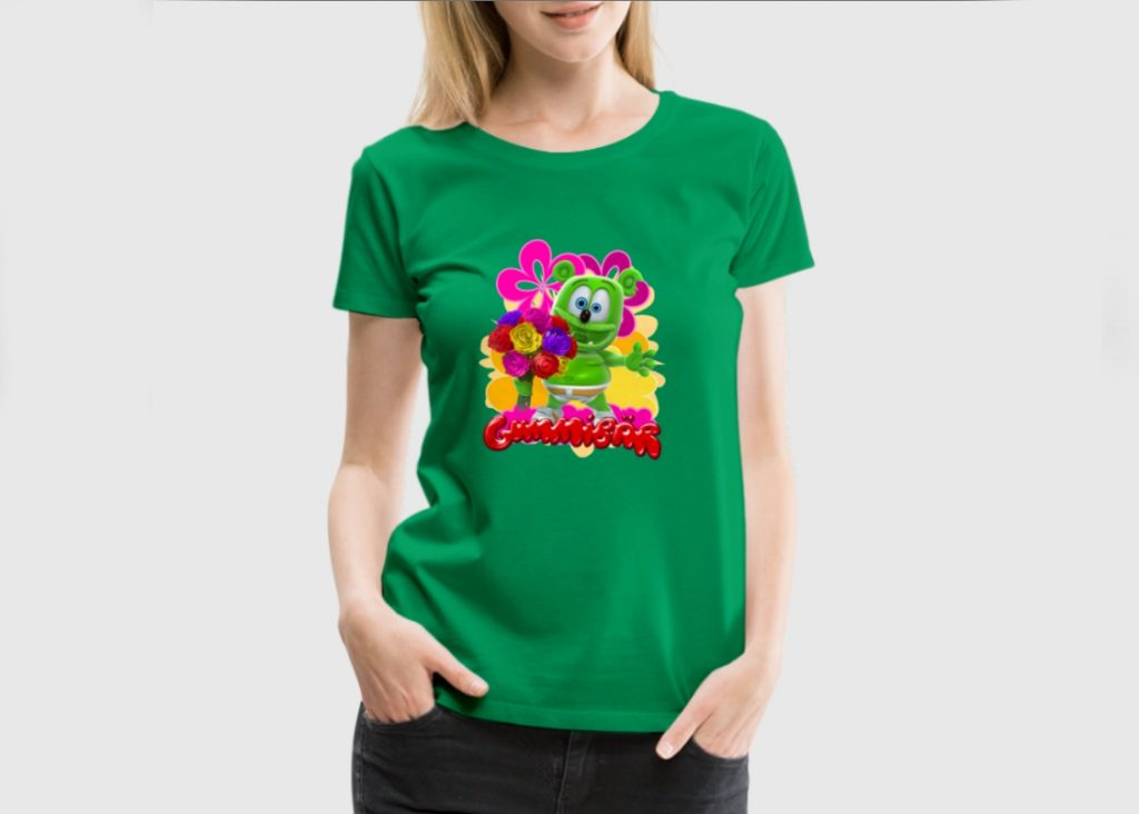 gummibär t-shirts spreadshirt gummy bear song i am a gummybear international