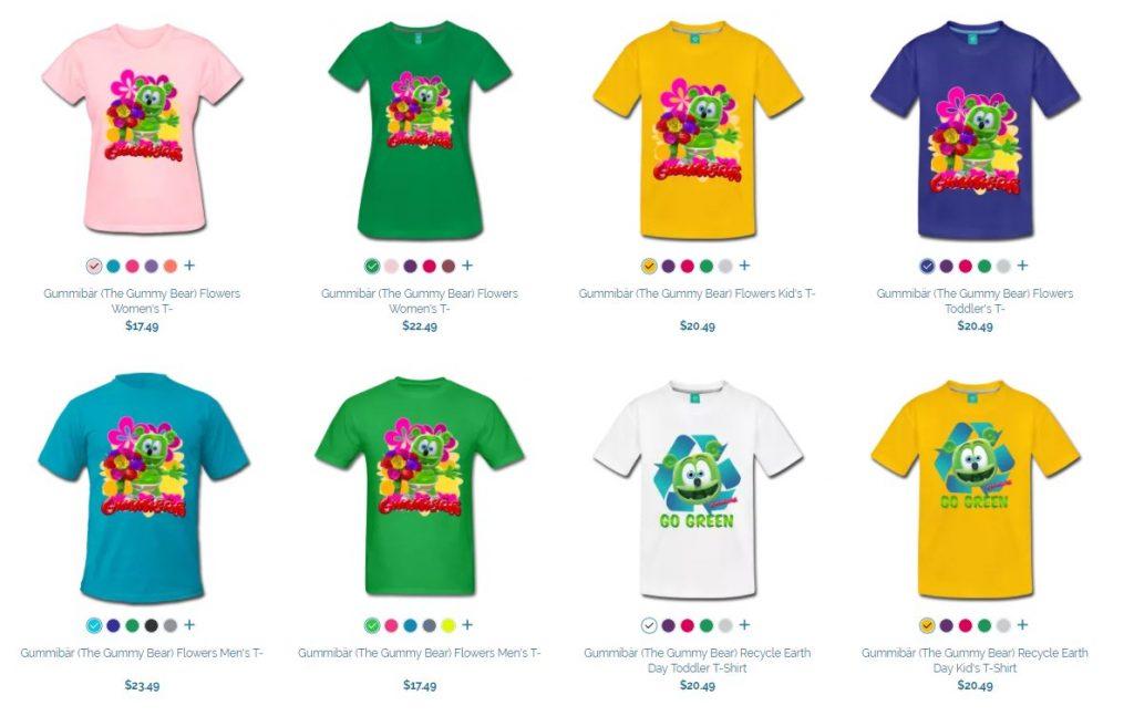 gummy bear spreadshirt store gummibar t-shirts store i am a gummy bear ima gummybear international