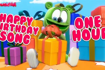 happy birthday one hour happy birthday song happy birthday to you gummibar the gummy bear kids birthday party songs childrens cartoon music