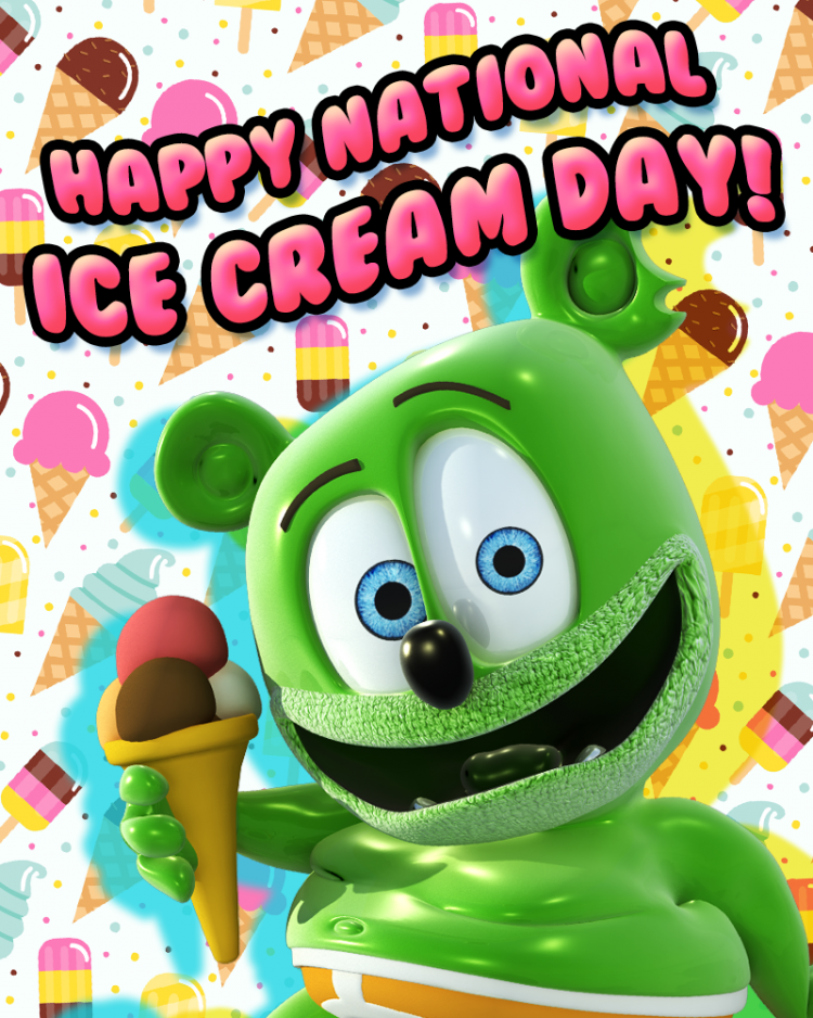 national ice cream day gummy bear song gummibar i am a gummy bear the gummy bear song gummybear international