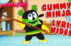 gummy ninja lyric video