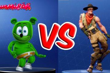 fortnite dance challenge 2 gummy bear and friends gummy bear song gummibar fortnite emotes season 6