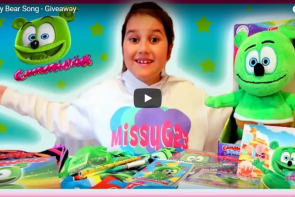 gummibär merchandise giveaway missy g23 gummy bear song kids toys childrens music gummibar