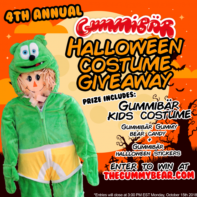 gummibar halloween costume contest