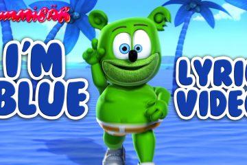 i'm blue lyric video gummy bear song