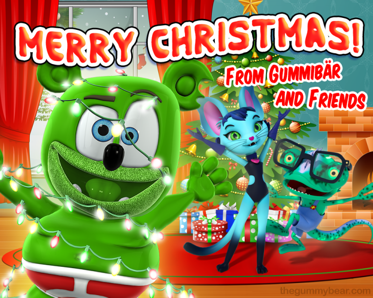 merry christmas from gummibar and friends