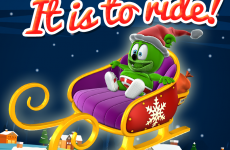 oh what fun it is to ride christmas banner