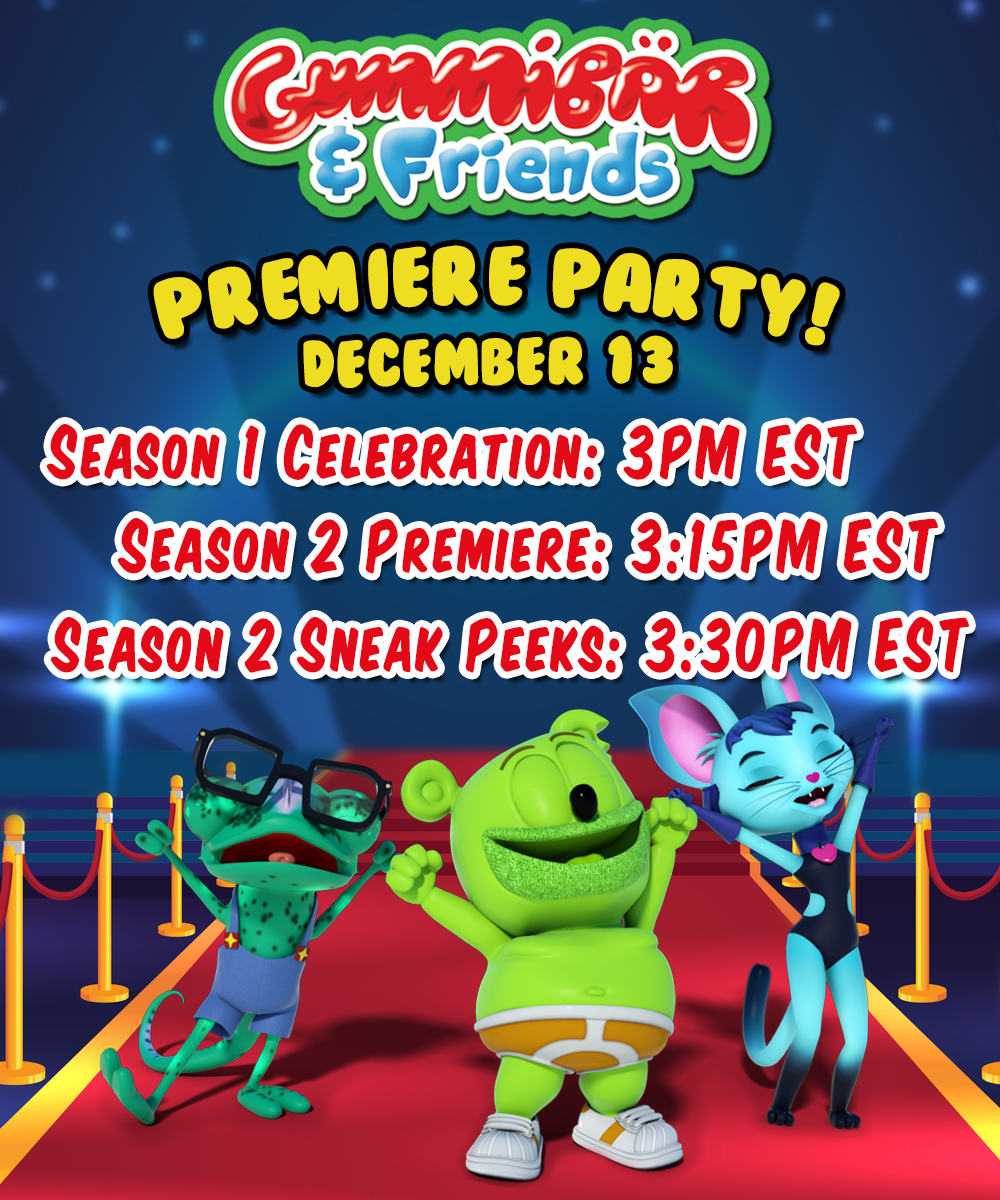 Gummy Bear Premiere Party