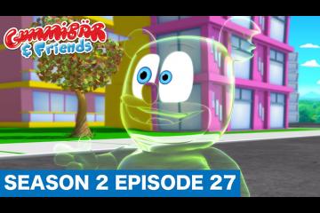 "Gummy Bear Show S2 E27 ""PEEK-A-BOO!"" Gummibär And Friends"