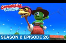"""RIDE 'EM GUMBOY!"" Gummibär And Friends: Gummy Bear Show S2 E26"