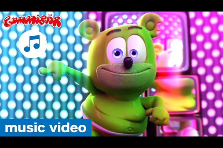 "Gummibär - ""RHYTHM IS A DANCER"" Music Video - The Gummy Bear"